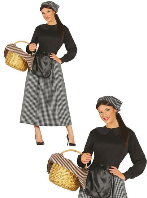Womens Chestnut Seller Costume
