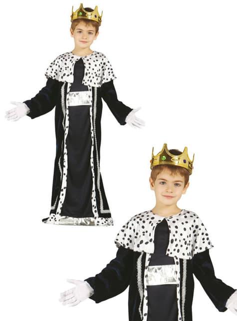 Disfraz de rey mago Melchor para niño - original