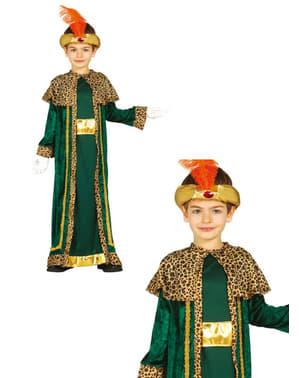 Costume da re magio Baldassarre da bambino