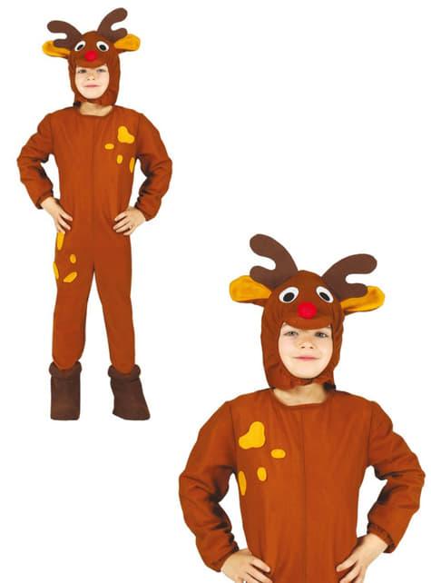 Disfraz de reno navideño para niño - original