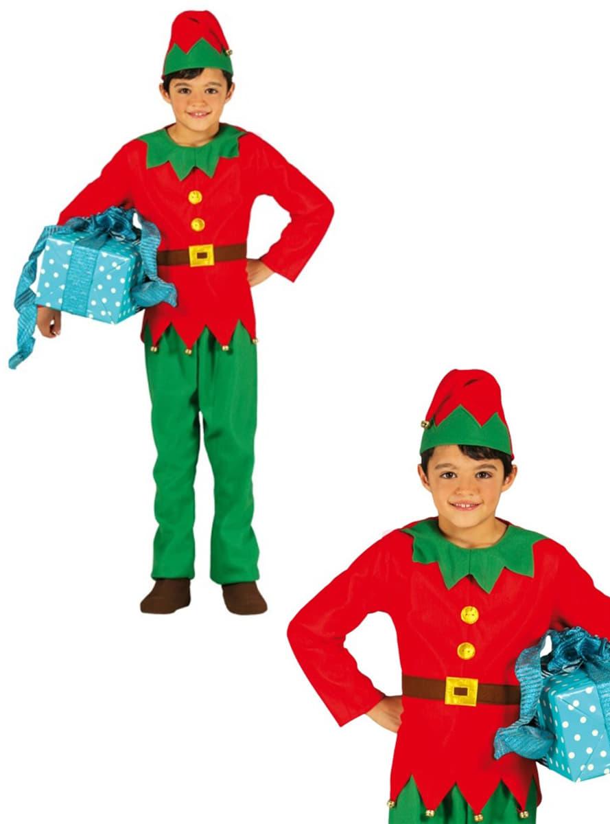 Disfraz de elfo elegante para ni o funidelia - Disfraz elfo nino ...