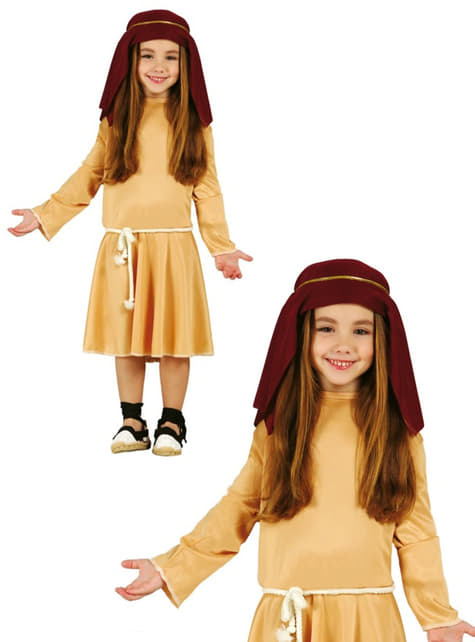 Girls Little Hebrew Shepherdess Costume