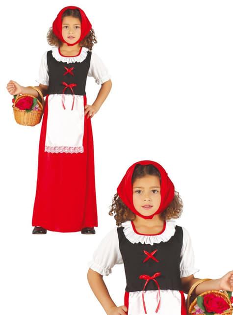Kostium pastuszka klasyczna dla dziewczynki