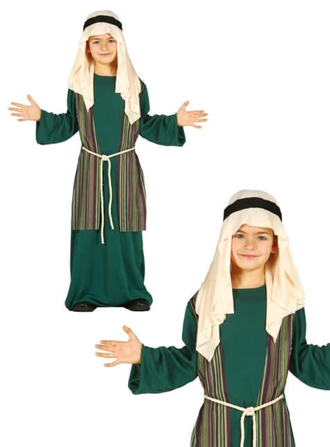 Déguisement Joseph vert enfant