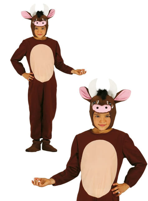 Disfraz de buey tierno para niño - original