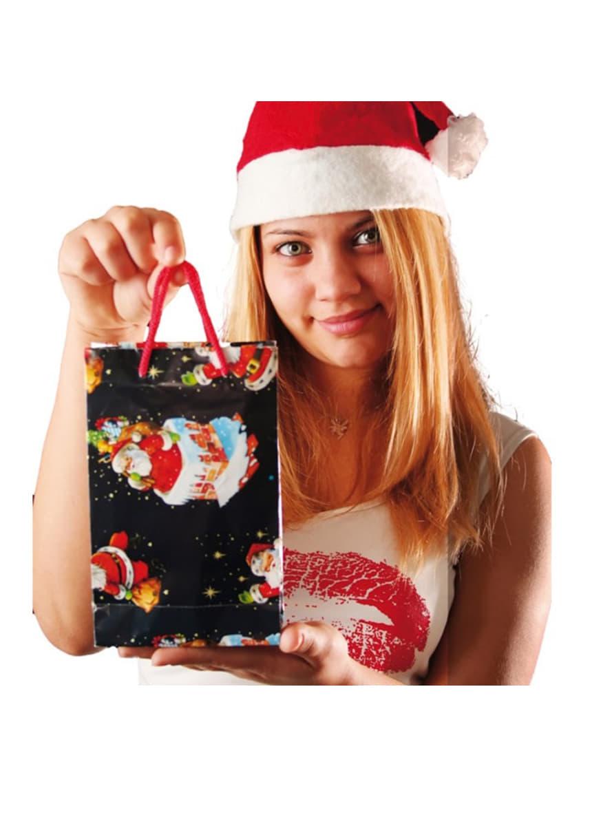 Sac cadeau no l 20x15cm pour d guisement funidelia - Sac cadeau noel ...