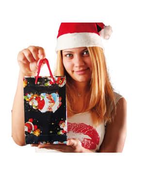 Dekaracyjne torebki świąteczne 20x15 cm