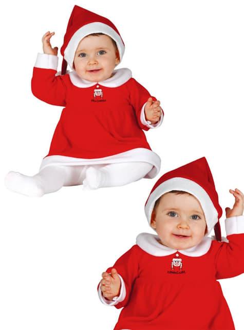 Kostým pro nejmenší paní Clausová