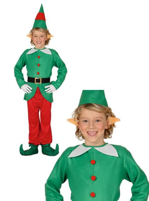 Disfraz de elfo divertido para niño - original