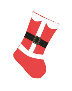 50-см Санта Коледен чорап