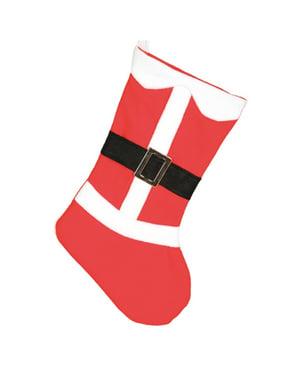 Skarpeta na prezenty święty Mikołaj 50cm