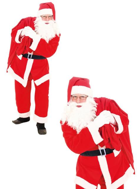Disfraz de Papá Noel adulto para hombre