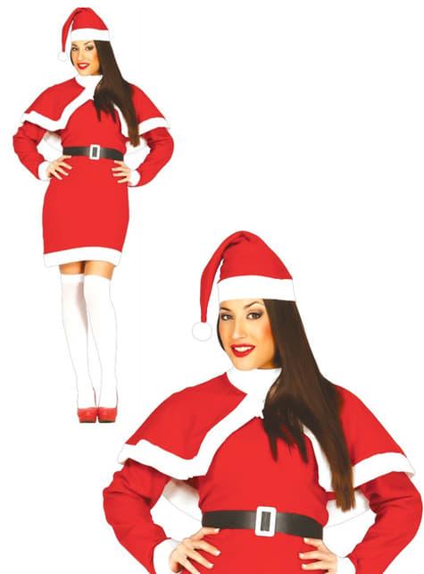 Disfraz de Mama Noel coqueta para mujer