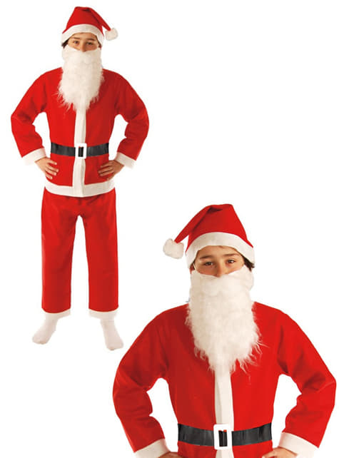 Boys Fun Father Christmas Costume