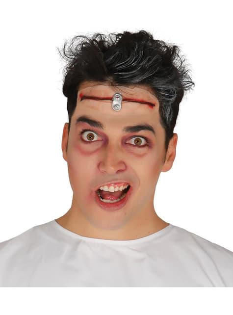 Cicatriz corte de cabeza