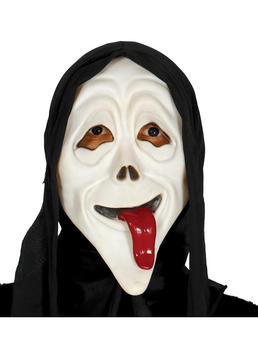 Scream Maske Mit Zunge Und Kapuze Die Lustigsten Modelle