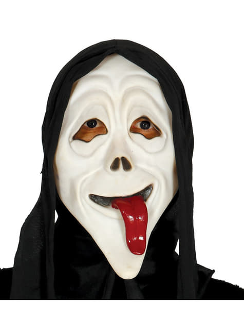 Scream-naamari kielellä ja hupulla