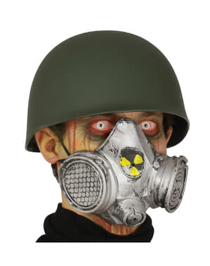 Nuclear gas mask