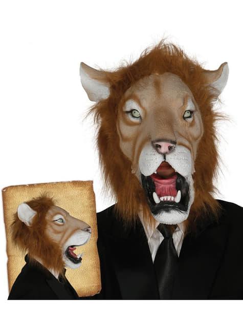 Máscara de león elegante