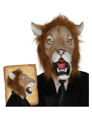 Masque lion élégant