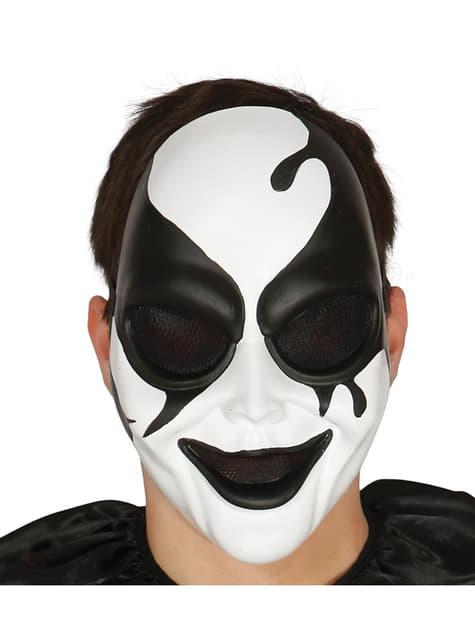 Máscara de arlequim assassino