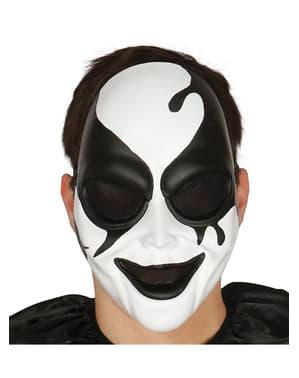 Harlequin murderer mask