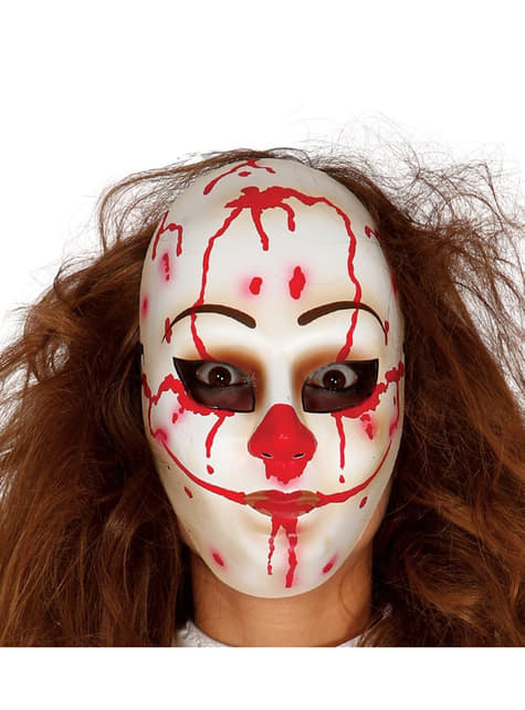 Máscara de payaso homicida