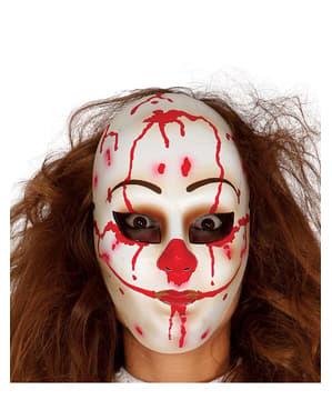 Máscara de palhaço assassino