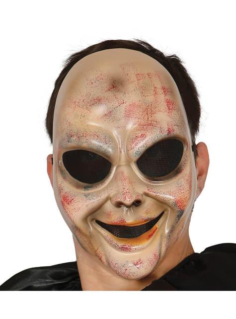 Máscara de niño psicópata