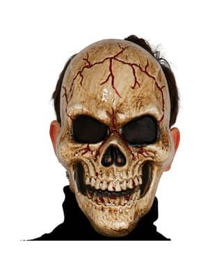 暗闇のスケルトンマスク