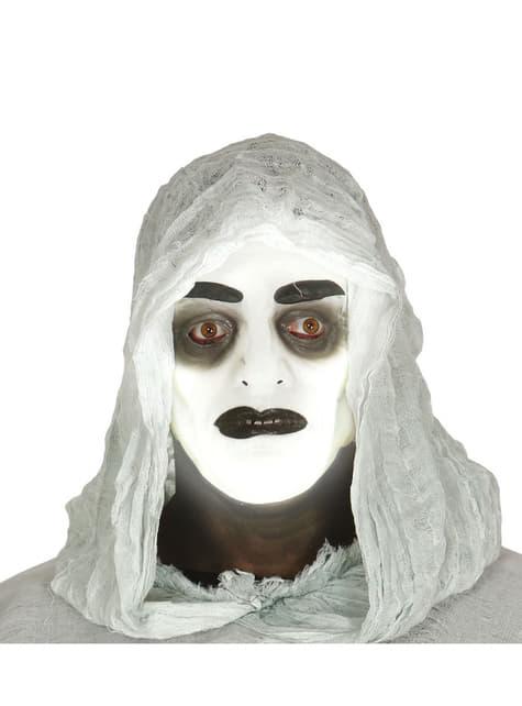 Máscara de fantasma luminoso para hombre