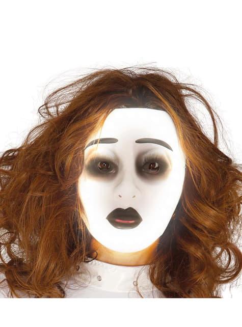 Máscara de fantasma para adulto