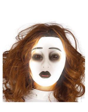 Spøgelsesmaske til voksne