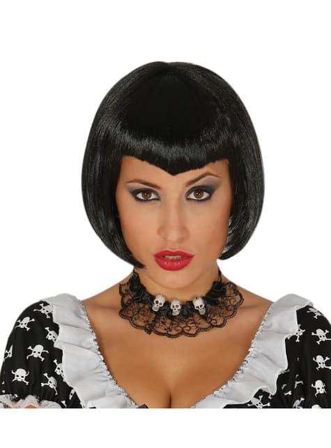 Peluca de bruja a la moda para mujer