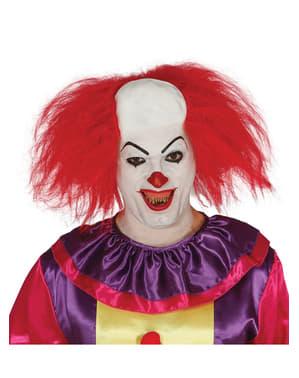 Clowns Glatze mit Haar für Herren