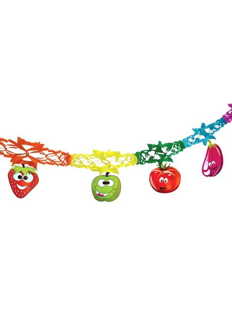 Γιρλάντα με Σημαιάκια Fantasy fruits