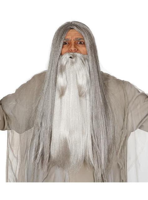 Mens magician beard