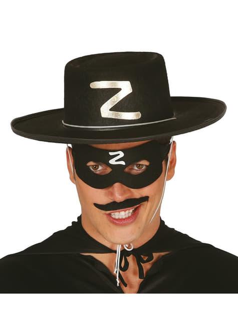 Mens Zorro masquerade mask