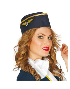 Womens air hostess cap