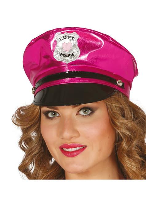 Gorro de policía sexy para mujer