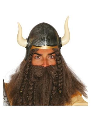 Mens barbarian helmet