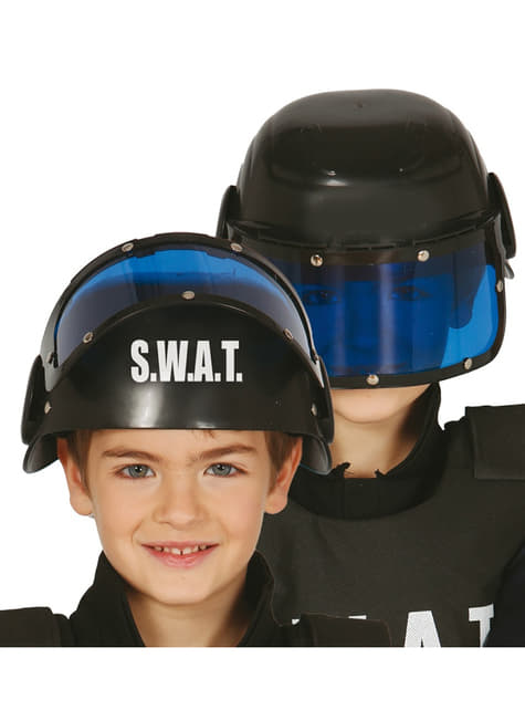 Capacete S.W.A.T. para menino