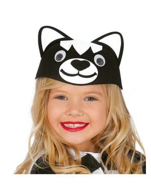 Caschetă de pisicuță pentru fată