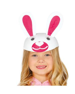 Kaszkiet króliczek dla dziewczynki