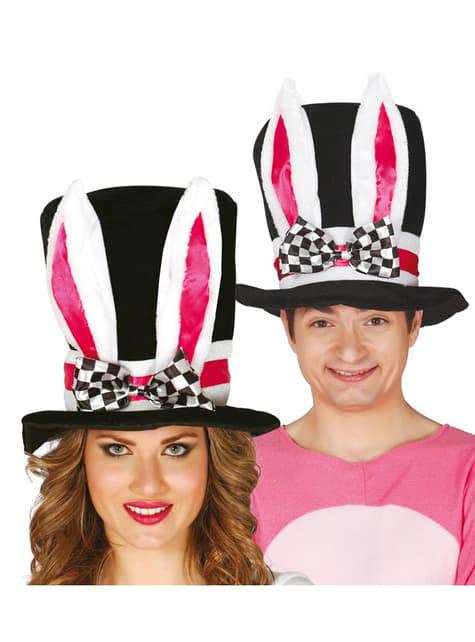 Sombrero con orejas de conejo unisex