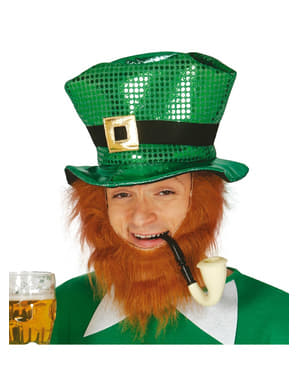 Saint Patrick hat med pailletter til mænd