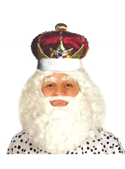 Corona de rey para hombre