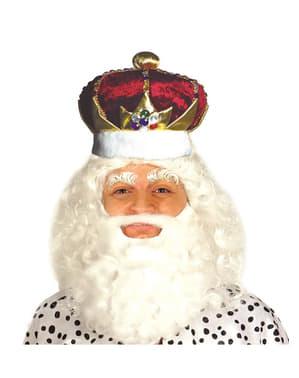 Coroa de rei para homem
