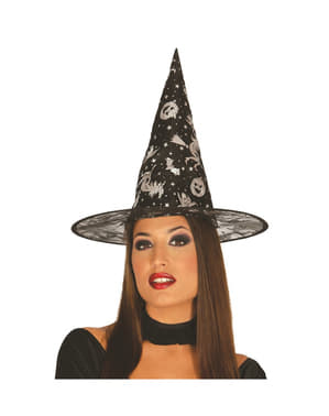 Womens attractive witch hat