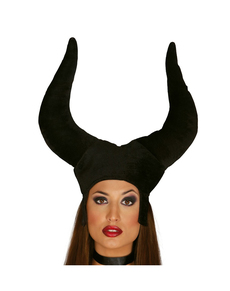 Sombrero de maléfica para mujer